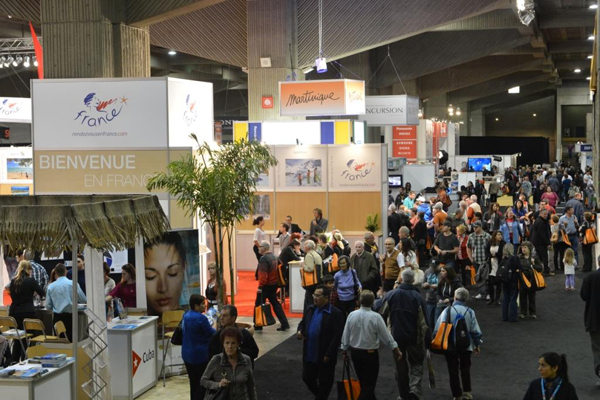 Salon international tourisme voyages mirtha yepez for Salon e tourisme